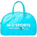 MUスポーツ M.U SPORTS 超軽量ロゴ ボストンバッグ