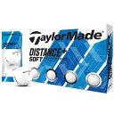 【まとめ割クーポン対象】テーラーメイド DISTANCE+ Distance+Soft ゴルフボール 1ダース スポーツ ゴルフ用品