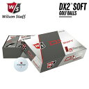 【送料無料】【2018年モデル】WILSON ウィルソン DX2 SOFT GOLF BALLS ゴルフボール 1ダース