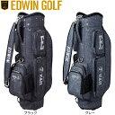 【送料無料】【2016年モデル】 EDWIN GOLF エドウィン ゴルフ キャディバック EDWIN-037