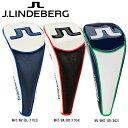 【送料無料】【最終 特価!!】 J.LINDEBERG ジェイリンドバーグ ドライバー用 ヘッドカバー JL-404