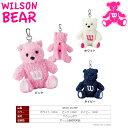 【送料無料 メール便】 WILSON BERA ウィルソン ベア レディス ボールポーチ BEAR-907BP