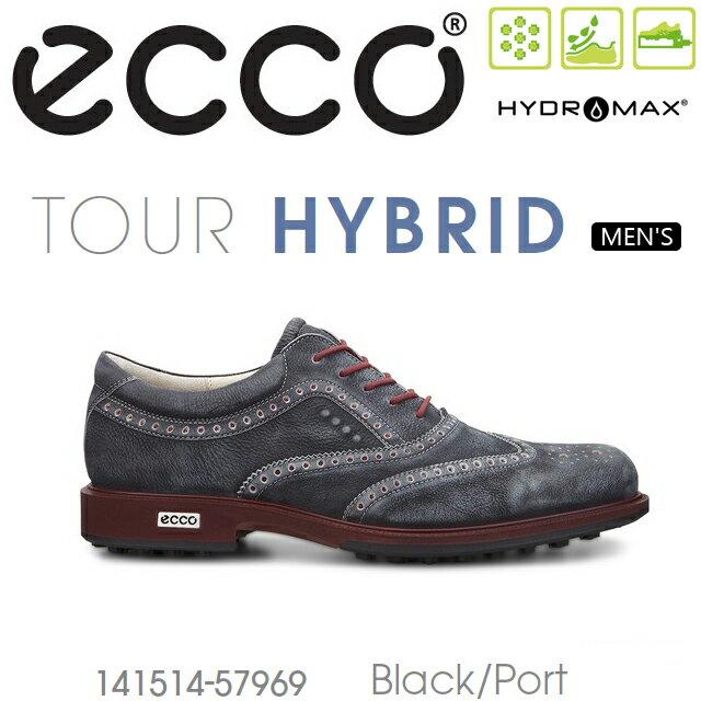 【送料無料】【2016年継続モデル】ECCO エコー MENS TOUR GOLF HYBRID【141514-57969】 メンズ ゴルフシューズ