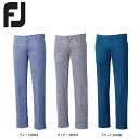 【送料無料】 FOOTJOY フットジョイ ハウンズトゥースパンツ FJ-F15-P54