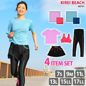 スポーツ Tシャツ スカート レギンス ランニング フィット