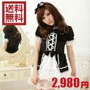 萌え ゴスロリ系 可愛い 黒ドレス