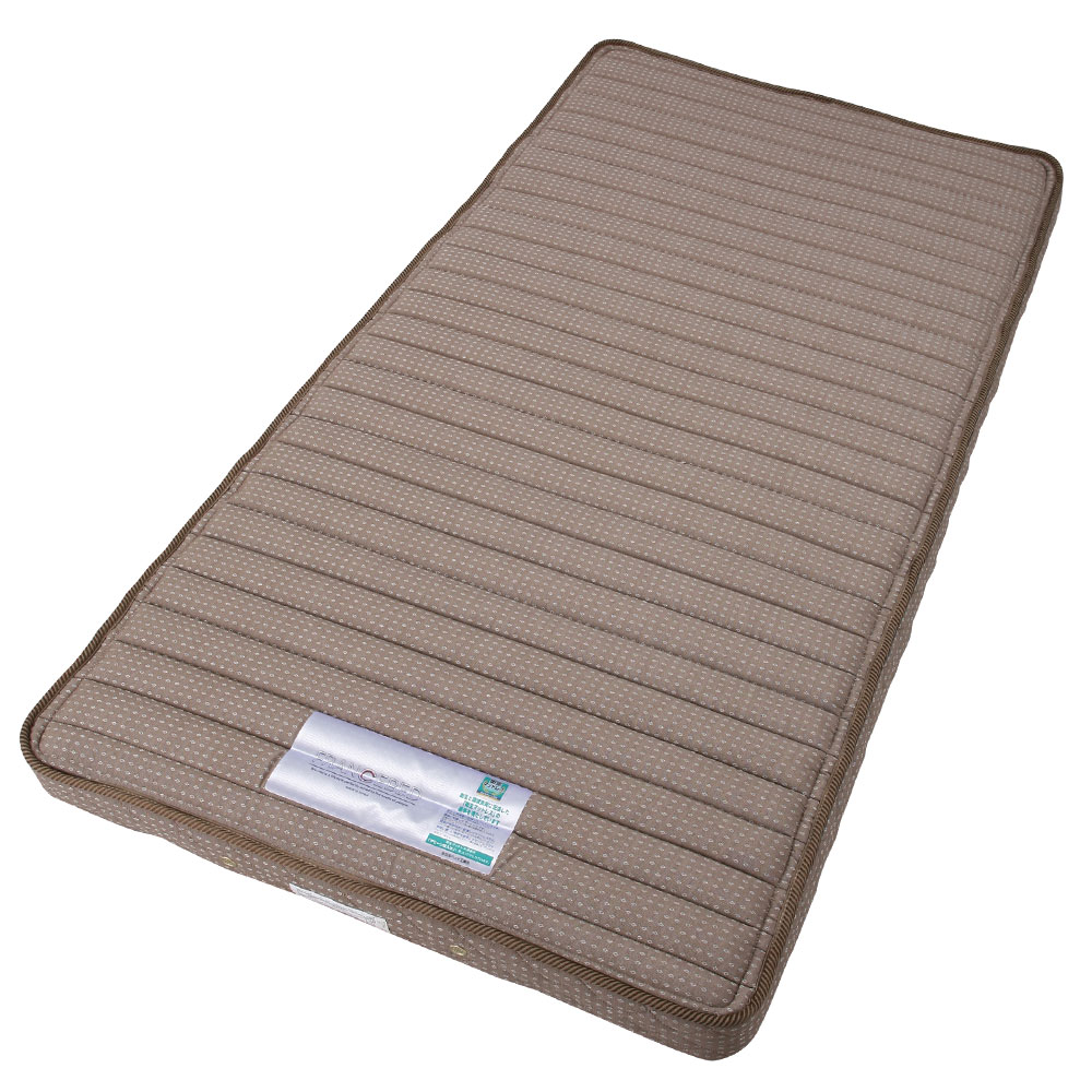 【クーポンで2,000円OFF】 マットレス 3つ折り シングル コイルスプリング ベッド…...:gekiyasukaguya:10004743