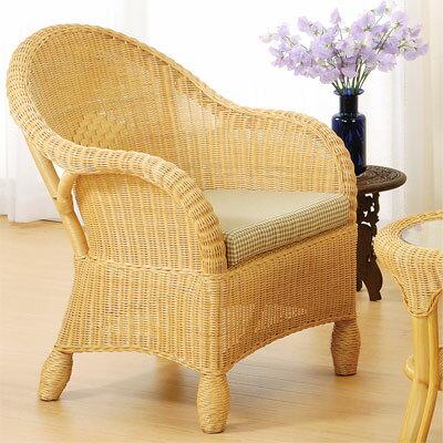 【クーポンで2,000円OFF】 籐 イス 椅子 いす 籐製 一人掛け リビングセット ア…...:gekiyasukaguya:10003007