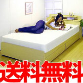 シングルベッド 寝具 送料無料 ブラック 黒 ブラウン おしゃれ