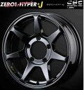 ■CST ZERO-1 HYPER+J 16インチ 5.5J +22 ホイール 4本set グロスブラック ジムニー JA