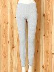 [Rakuten Fashion]ロープふくれジャカードレギンス/ルームウエア gelato pique ジェラートピケ インナー/ナイトウェア ルームウェア/ボトムス グレー ホワイト
