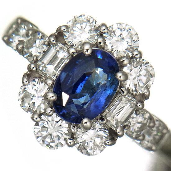 【新品】カシミール産 非加熱サファイア1.57ct 指輪 レディース 上質ダイヤモンド1.93ct プラチナリング【稀少石】