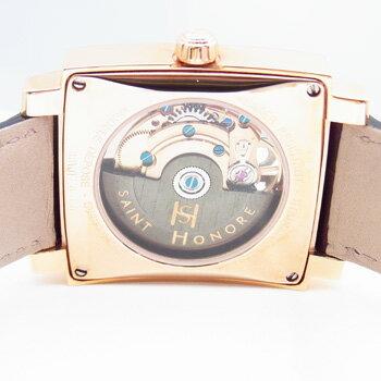 【サントノーレ】オルセーカレミディアム 8810178YBBR 茶 自動巻き男女兼用腕時計【新品】 正規輸入品 SS(PGP)×革