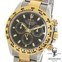 ギャラ付 ロレックス デイトナ 116503 黒文字盤 コンビ ランダム メンズ 自動巻き 腕時計