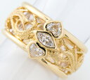 ヤーネス ダイヤモンド 18金イエローゴールド 13号 リング・指輪【中古】(2200000226495)