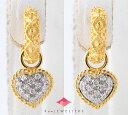ヤーネス ダイヤモンド 18金イエローゴールド/18金ホワイトゴールド ピアス【中古】(2200000239594)