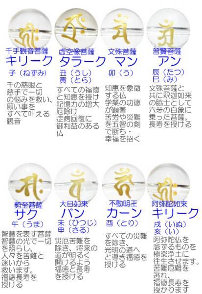 オニキス梵字ブレスレット【天然石ブレス・パワー...の紹介画像3