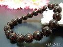 数珠 ブレスレット ガーネット ブレス10MM【天然石 パワーストーン お守り 選べるサイズ】