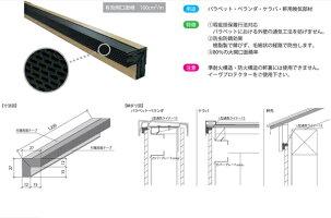L型通気ライナー12|躯体換気材|製品情報|日本 …