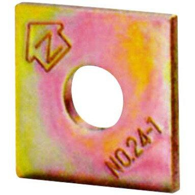 ☆あす楽対応☆Z金物 Zマーク 角座金 角座 角ワッシャー W4.5×40