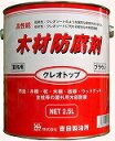 ☆あす楽対応☆  吉田製油所クレオトップ 2.5Lブラウン