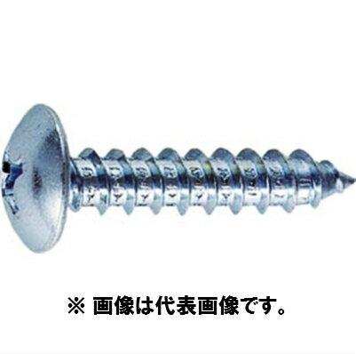 【メール便可】 鉄 ユニクロ トラス頭タッピングねじ 4×40