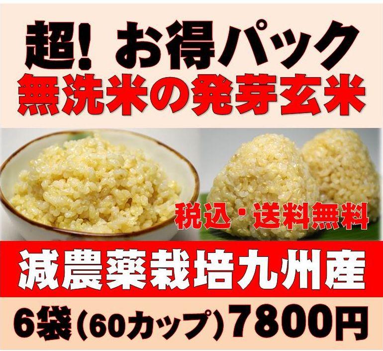 【28年新米】白米モード楽々炊飯!圧倒的に美味しい減農薬の玄氣1.5kg×6袋(9kg真空…...:genki-genmai:10000072