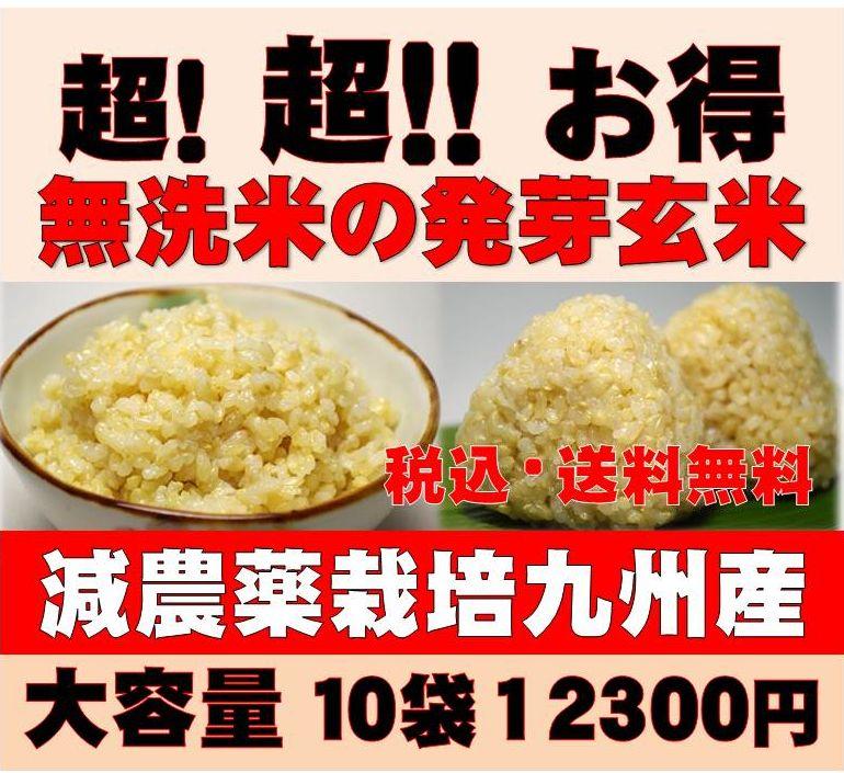 【28年新米】白米モード楽々炊飯!圧倒的に美味しい減農薬の玄氣1.5kg×10袋(15kg…...:genki-genmai:10000073