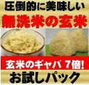 無農薬玄米が原料の発芽玄米玄米/玄氣900g/6合分お試し真空パック【送料無料】無農薬