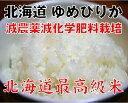 【特A評価】ゆめぴりか・北海道産5kg・送料無料・無洗米【減農薬・減化学肥料栽培】