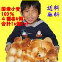 国産小麦ふくらむ魔法の冷凍パン 4種16個入りセット 送料無...