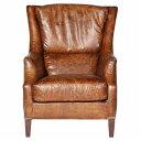 《HALO》ヴィンテージレザーソファ Chelsea Sofa 1P (Vintage Leather Sofa)【送料無料】 【アンティーク】【ビンテージ】【アニリンレザー】【チェスターフィールド(chesterfield)】 【受注生産対応品:2〜3ヶ月】