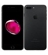 【中古】【安心保証】 docomo iPhone7Plus 128GB ブラック