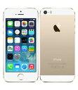【中古】【安心保証】 docomo iPhone5s[64GB-d] ゴールド