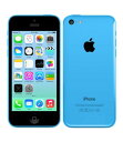 【中古】【安心保証】 au iPhone5c[16GB-a] ブルー