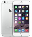 【中古】【安心保証】 au iPhone6Plus[16GB] シルバー