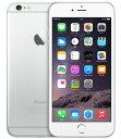 【中古】【安心保証】 au iPhone6Plus[64GB] シルバー