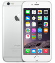 【中古】【安心保証】 SoftBank iPhone6[128G] シルバー