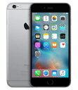 【中古】【安心保証】 docomo iPhone6s 32GB スペースグレイ