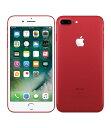 【中古】【安心保証】 au iPhone7Plus 256GB レッド SIMロック解除済