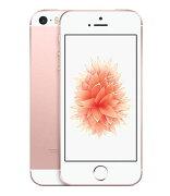 【中古】【安心保証】 SoftBank iPhoneSE[32G] ローズゴールド