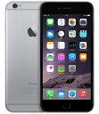 【中古】【安心保証】SoftBank iPhone6Plus[128G] スペースグレイ