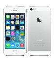 【中古】【安心保証】 iPhone5s[16GB] docomo ME381J シルバー
