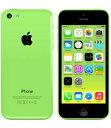 【中古】【安心保証】 SoftBank iPhone5c[32GB-s] グリーン