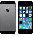 【中古】【安心保証】 au iPhone5s[16GB-a] スペースグレイ
