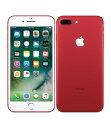 【中古】【安心保証】 au iPhone7Plus[256G] レッド