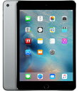 【中古】【安心保証】 au iPadmini4[セルラー64G] グレイ
