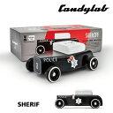 CandylabToys(キャンディーラボトイズ) SHERIFF(シェリフ) 自動車 おもちゃ ミニカー 知育玩具 木育 木のおもちゃ 木製 ビンテージ インテリア 雑貨 おしゃれ 6歳 7歳 小学生 大人 男性 30代 40代 50代 60代 誕生日 プレゼント 彼氏