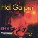 其它 - 【中古】ハル・ギャルパー・フィーチャリング・ブレッカー・ブラザーズ・ライブ'78/ハル・ギャルパーCDアルバム/ジャズ/フュージョン