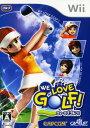【中古】WE LOVE GOLF!ソフト:Wiiソフト/スポーツ・ゲーム